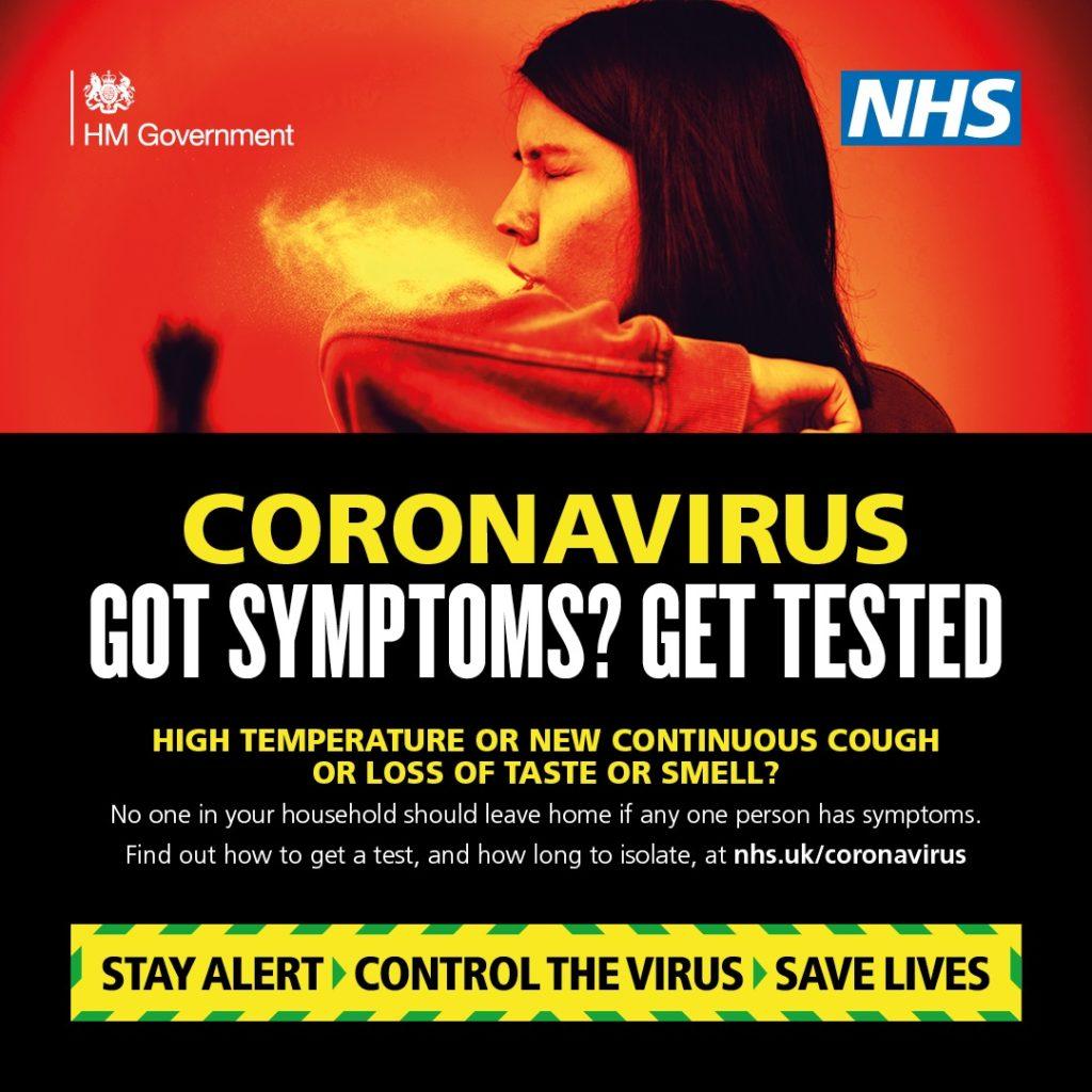 Got Symptoms? Get Tested